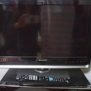 早い者勝ち♪2/25迄!AQUOS 20型テレビ(リモコン付き)