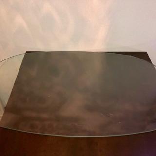 オーバルガラステーブル天板のみ!