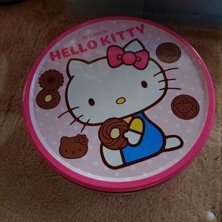 キティちゃんクッキー缶☆ピンク