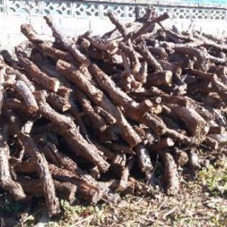 【格安】薪ストーブ用のぶどう枝です!