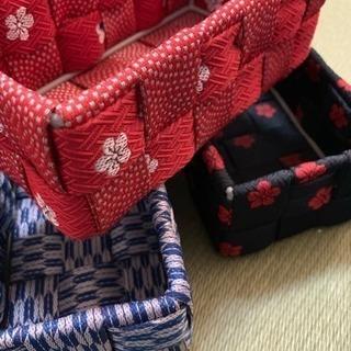 3/10限定教室 カワイイ畳縁で作る和小物入れ
