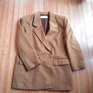 大幅値下げ🎉  キャメルのジャケット