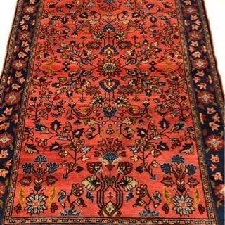 リリアン産 ペルシャ絨毯 202×132cm