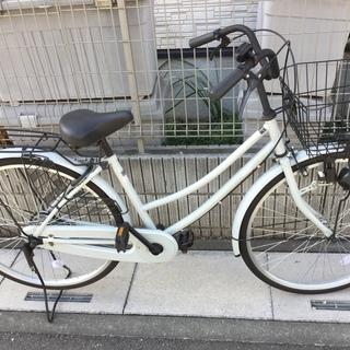 26インチの自転車2017年製です。