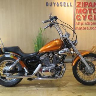 ヤマハ ビラーゴ XV250 3DM メタリック カスタムペイン...