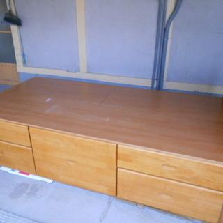 価格変更しました。収納付きシングルベッドの詳細です!!