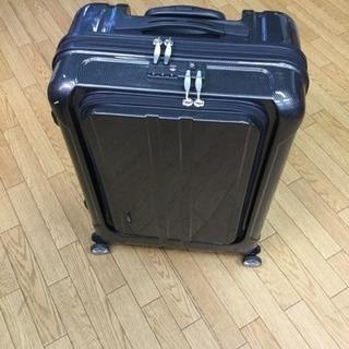 スーツケース TSAマーク付き ブラック