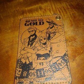 ワンピースフィルムゴールドパスケース
