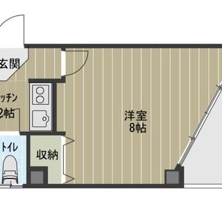 【✨初期費用26100円のみ✨】⭐️5階部分⭐️オートロック⭐️新...