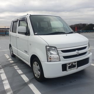 【支払総額12.5万】H20 ワゴンR FX 車検31/7 タイ...