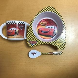 【used】Disney cars お食事用品