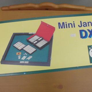 ミニ麻雀セット MINI JAN DX ボードゲーム 卓上 コン...
