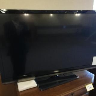 日立製 47インチテレビ