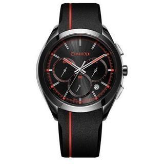 COMTEX メンズ 腕時計 シリコン