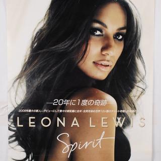 8229 レオナ・ルイス LEONA LEWIS SPIRIT ポ...