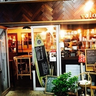前橋弁天通り valokioski 小さなカフェダイニングバー