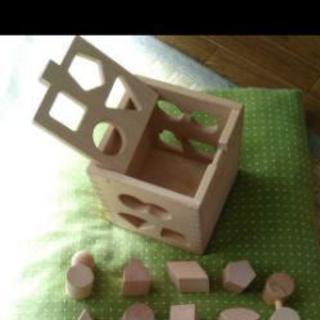 木製 型はめパズル