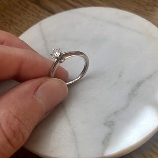 Tiffany&Co. (ティファニー) ダイヤリング プラチナ指輪