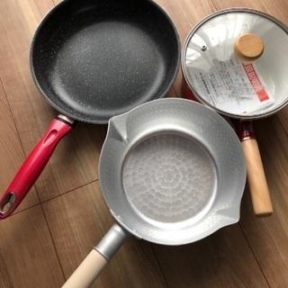 鍋、フライパンセット