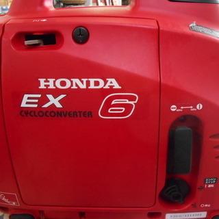 【J-1347】 HONDA サイクロン インバーター発電機 EX6