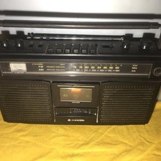 サンヨー ラジオ カセットレコーダー MR-X800