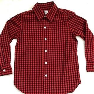 GAPkids 男児チェックシャツ サイズ120(6-7歳)
