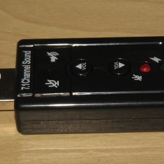 ジャンク USB サウンドカード