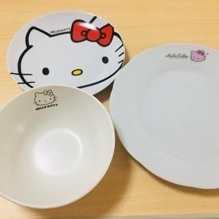 キティーちゃんの食器5点セット(マグカップ追加)