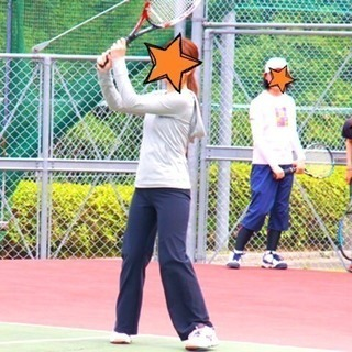 *3/16*大久保でわきあいあいにテニスしよう♪♪♡初・中上級者...