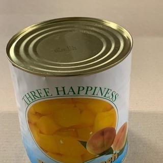 訳ありフルーツ缶詰黄桃ダイスたくさん
