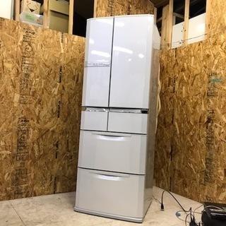 引取歓迎 MITSUBISH 6ドア冷蔵庫 大容量465L 動作良好!