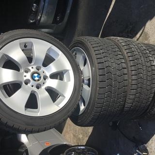 【長野県諏訪市より】BMW用17インチ スタットレス 今シーズン...