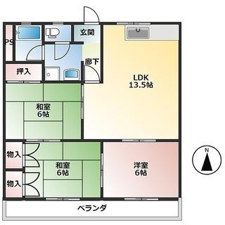 3LDK 残り1部屋です  駅徒歩3分 スーパー車で3分