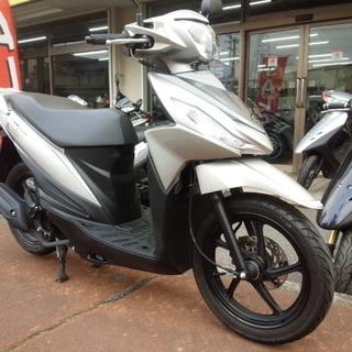 NO.2540 アドレス110 4サイクルエンジン FI車 ガンメ...