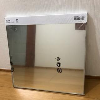 IKEA 鏡 ミラー ✩新品未使用✩✩正方形 小型ミラー 4枚入り