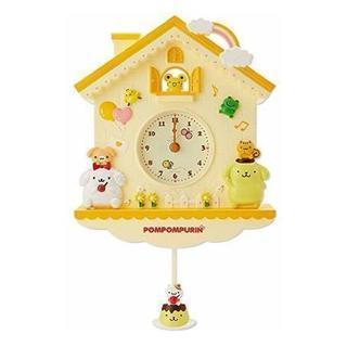 ポムポムプリン かけ時計