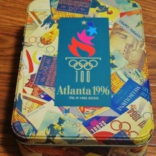 ●1996年 アトランタオリンピック ポストカードセット(缶入り)
