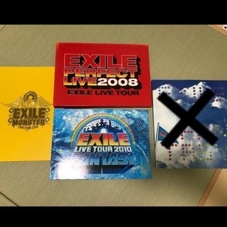 EXILEライブ写真集3冊セット