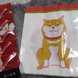 柴犬ペーパーナフキン&箸置き