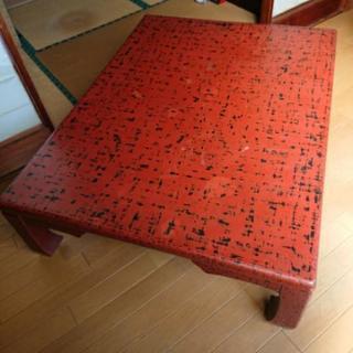 昭和レトロ 和室テーブル
