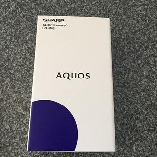 新品 未開封 AQUOS sense2 SH-M08 SIMフリ...