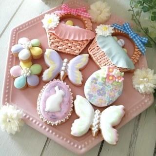 【3月1デイ】春はすぐそこ♡ イースターアイシングクッキーレッスン