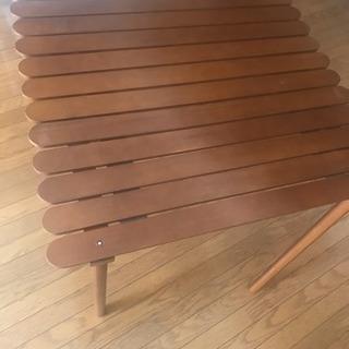 アウトドア 組み立て式テーブル