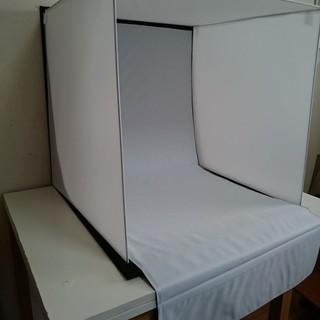 大型64㎝写真撮影ブース 折りたたみ式 4色背景付き