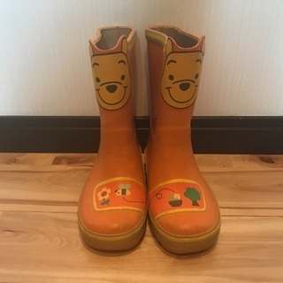 男女🆗プーさん長靴✨16センチ