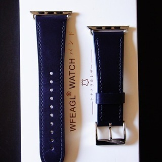 WFEAGL for Apple Watch バンド ネイビーレ...