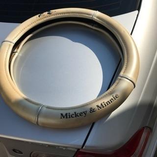 【値下げしました】ハンドルカバー 軽用 Mickey &minnie