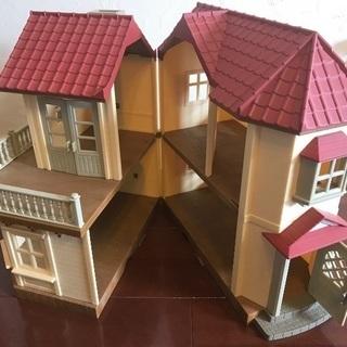 シルバニアファミリー あかりの灯る大きなお家