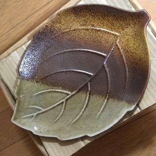 美濃焼 木の葉 和皿 4枚組