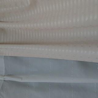 【再々値下げしました♪】腰窓カーテン2枚と共布タッセル2本セット